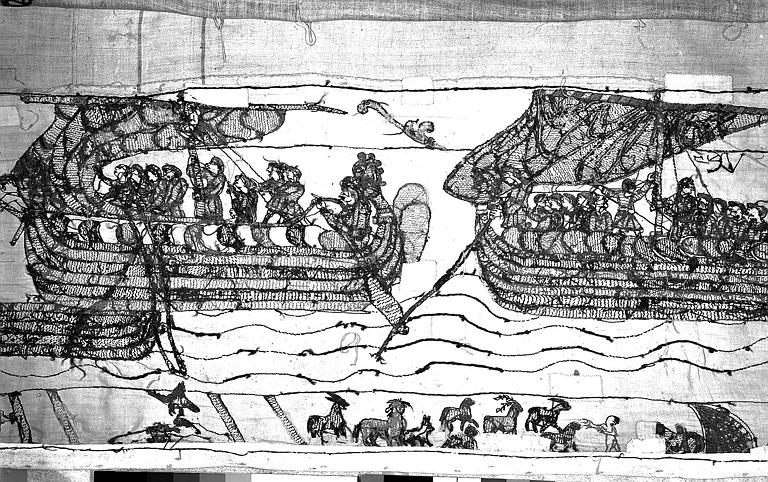 Tapisserie de Bayeux : Revers de 82P00693
