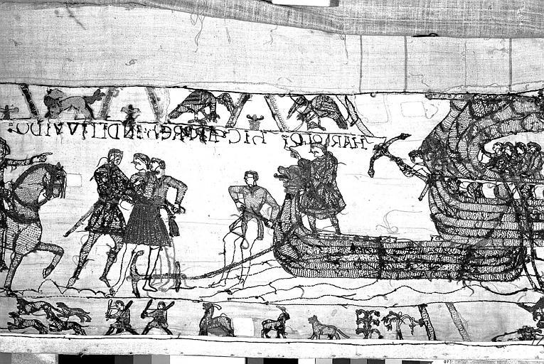 Tapisserie de Bayeux : Revers de 82P00694