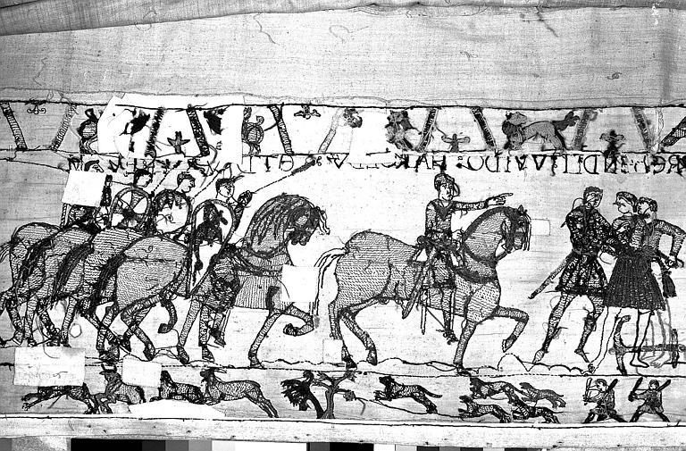 Tapisserie de Bayeux : Revers de 82P00695