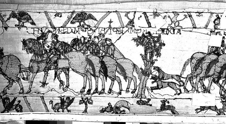 Tapisserie de Bayeux : Revers de 82P00696