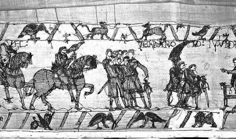 Tapisserie de Bayeux : Revers de 82P00697