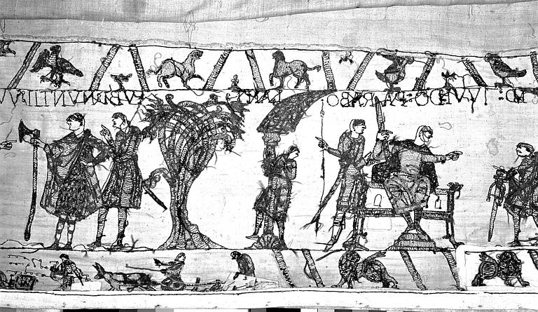 Tapisserie de Bayeux : Revers de 82P00698