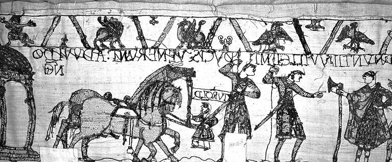 Tapisserie de Bayeux : Revers de 82P00699