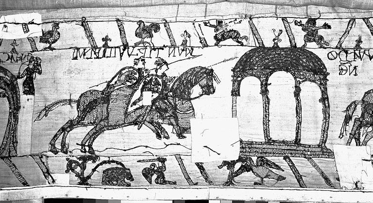 Tapisserie de Bayeux : Revers de 82P00700