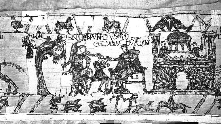Tapisserie de Bayeux : Revers de 82P00701