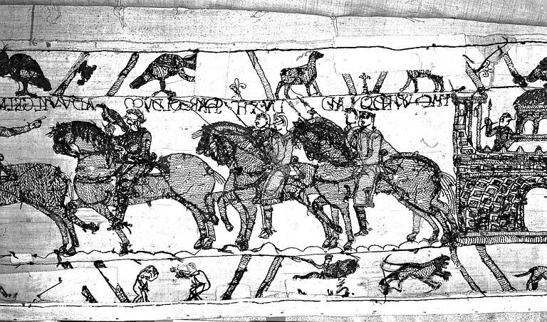 Tapisserie de Bayeux : Revers de 82P00702