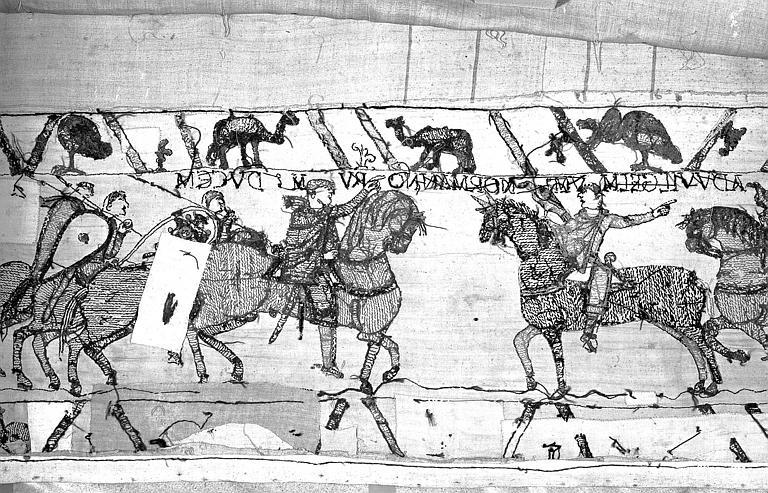 Tapisserie de Bayeux : Revers de 82P00703