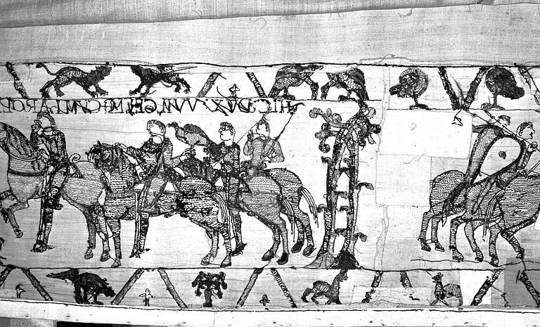 Tapisserie de Bayeux : Revers de 82P00704