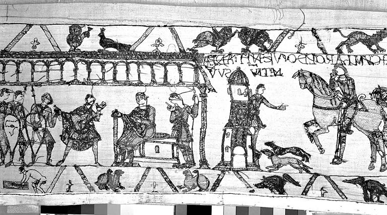 Tapisserie de Bayeux : Revers de 82P00705