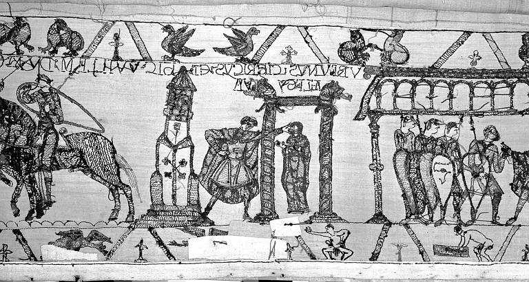 Tapisserie de Bayeux : Revers de 82P00706