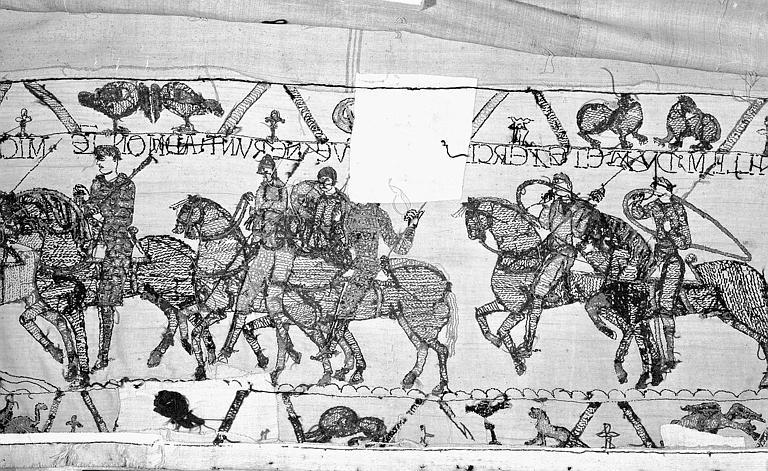 Tapisserie de Bayeux : Revers de 82P00707