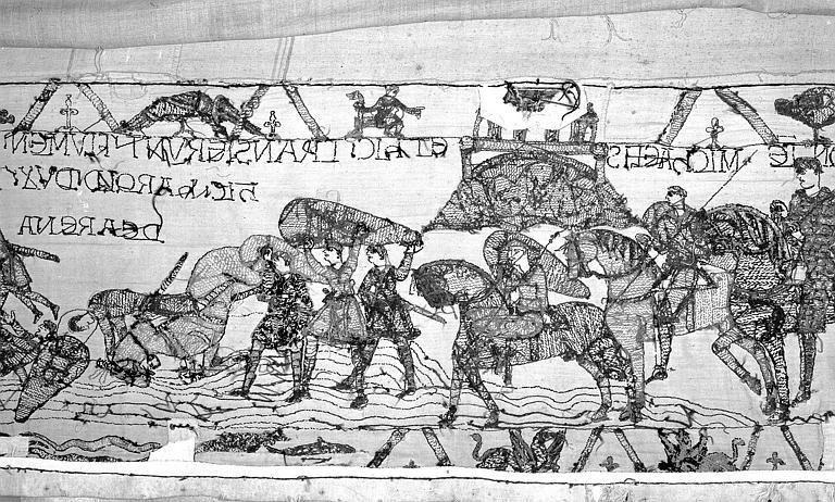 Tapisserie de Bayeux : Revers de 82P00708