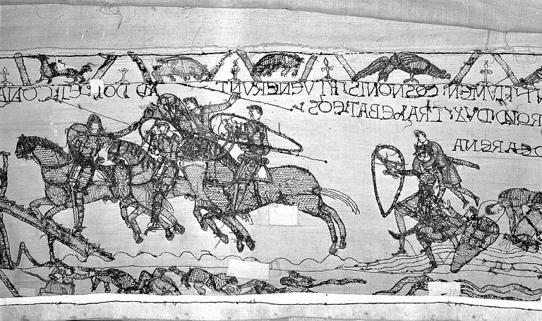 Tapisserie de Bayeux : Revers de 82P00709