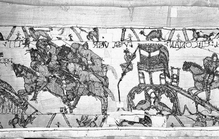 Tapisserie de Bayeux : Revers de 82P00710