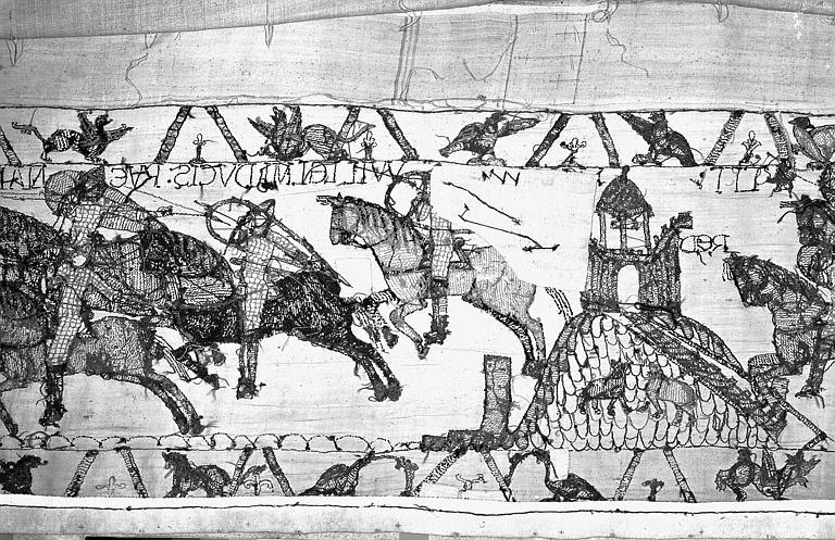 Tapisserie de Bayeux : Revers de 82P00711
