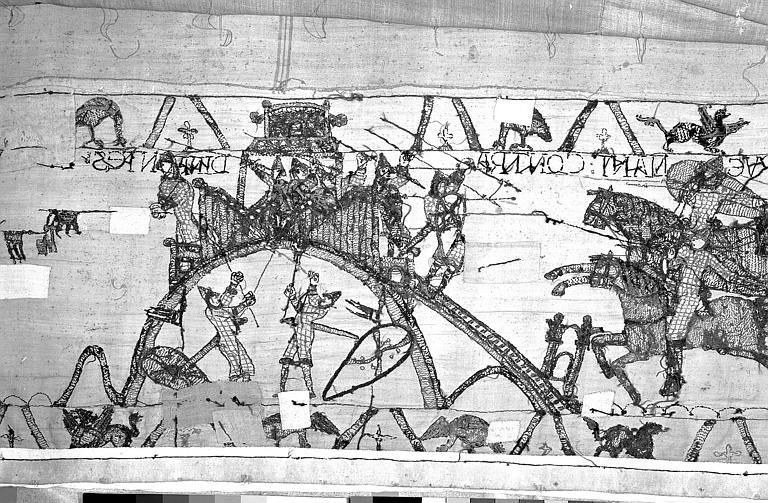 Tapisserie de Bayeux : Revers de 82P00712