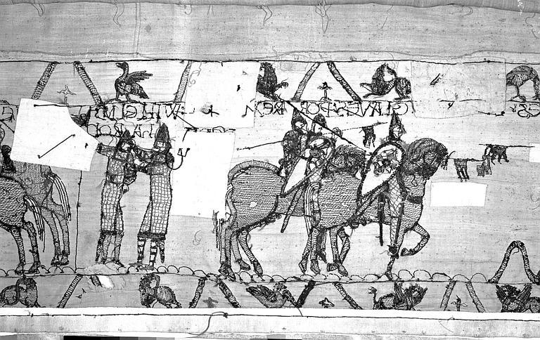 Tapisserie de Bayeux : Revers de 82P00713