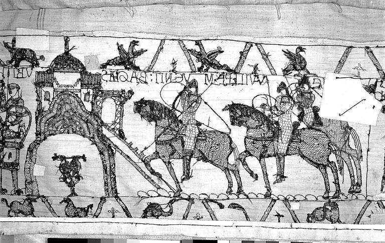 Tapisserie de Bayeux : Revers de 82P00714