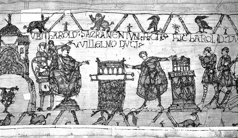 Tapisserie de Bayeux : Revers de 82P00715