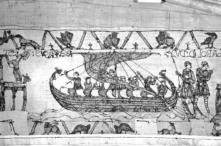 Tapisserie de Bayeux : Revers de 82P00716