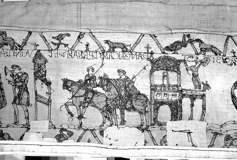 Tapisserie de Bayeux : Revers de 82P00717