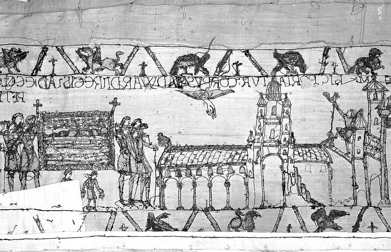 Tapisserie de Bayeux : Revers de 82P00718