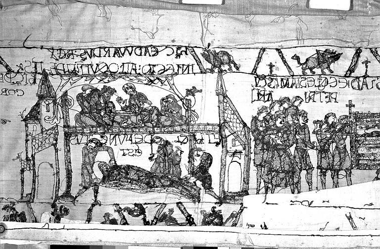 Tapisserie de Bayeux : Revers de 82P00719