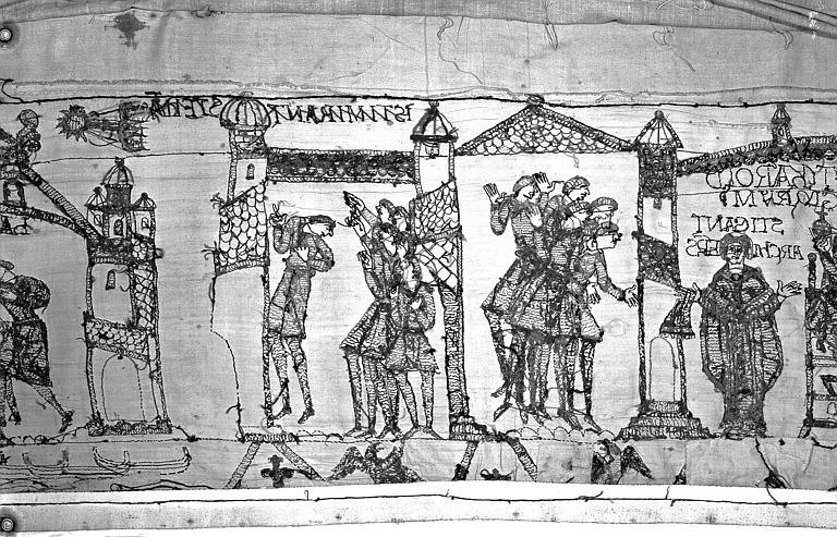 Tapisserie de Bayeux : Revers de 82P00721