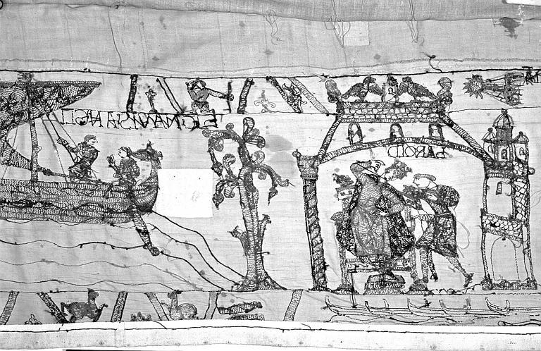 Tapisserie de Bayeux : Revers de 82P00722