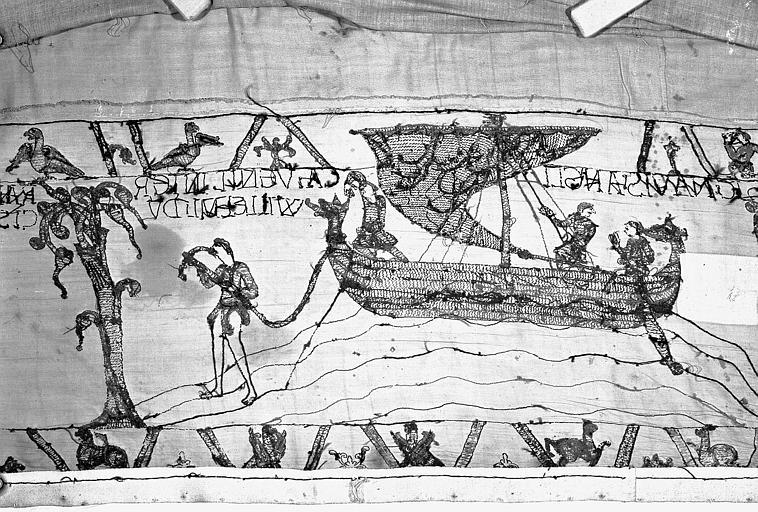 Tapisserie de Bayeux : Revers de 82P00723