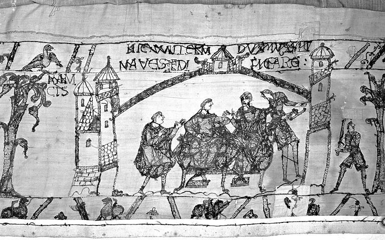 Tapisserie de Bayeux : Revers de 82P00724