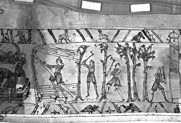 Tapisserie de Bayeux : Revers de 82P00725