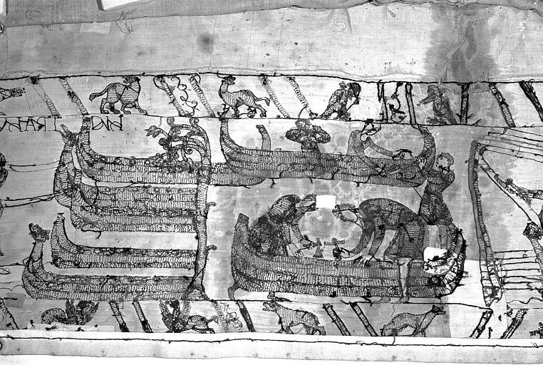 Tapisserie de Bayeux : Revers de 82P00726