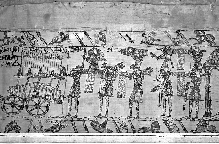 Tapisserie de Bayeux : Revers de 82P00728