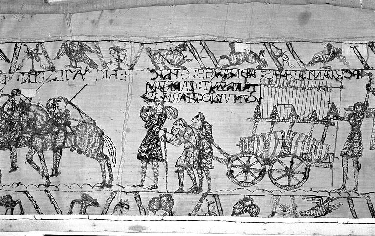 Tapisserie de Bayeux : Revers de 82P00729