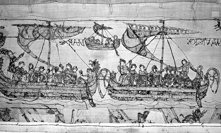 Tapisserie de Bayeux : Revers de 82P00731