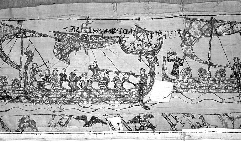 Tapisserie de Bayeux : Revers de 82P00733