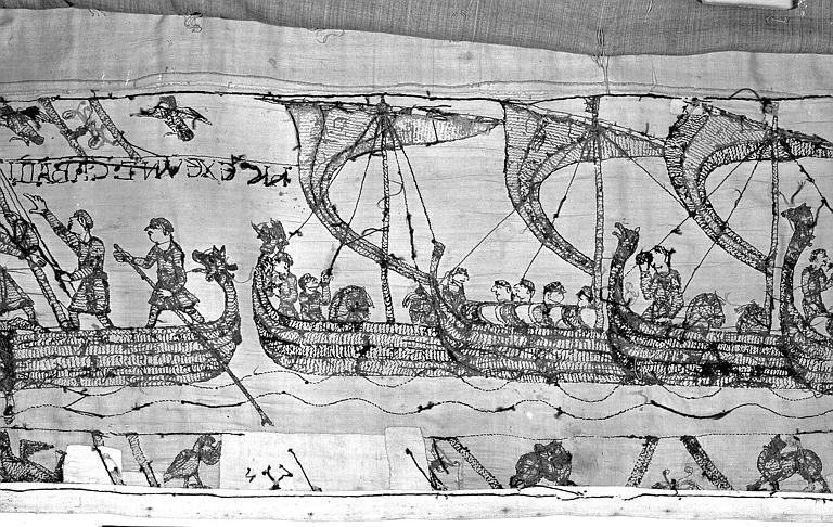 Tapisserie de Bayeux : Revers de 82P00734