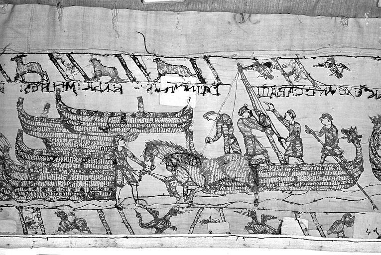 Tapisserie de Bayeux : Revers de 82P00735