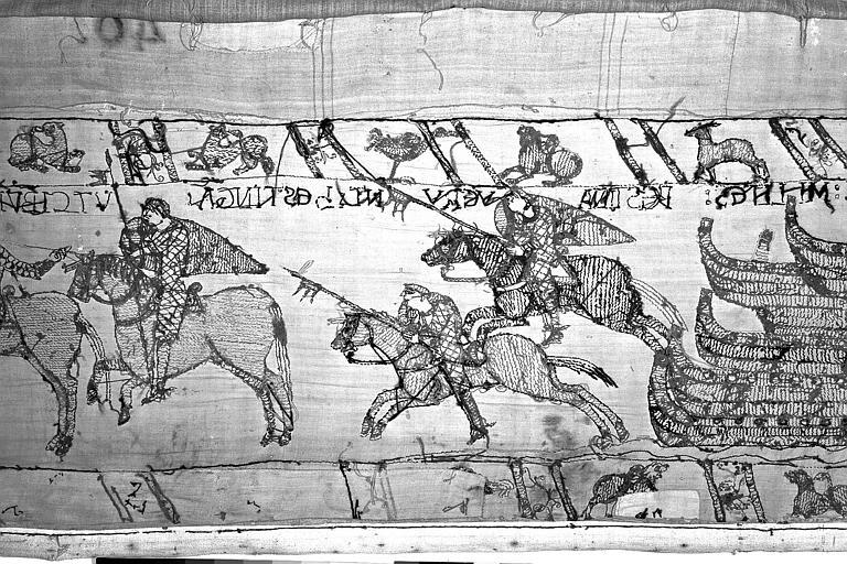 Tapisserie de Bayeux : Revers de 82P00736