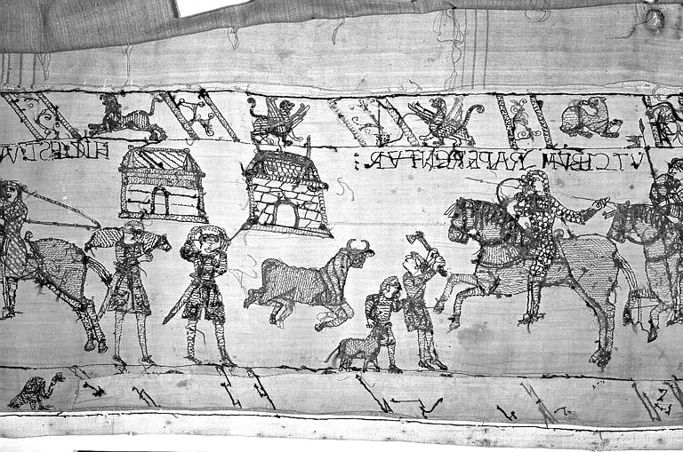 Tapisserie de Bayeux : Revers de 82P00737