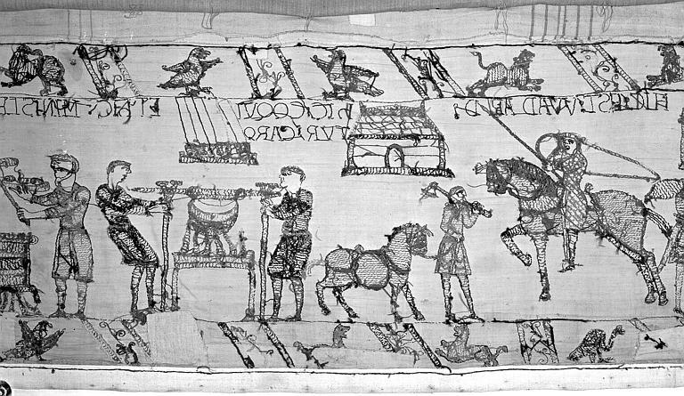 Tapisserie de Bayeux : Revers de 82P00738