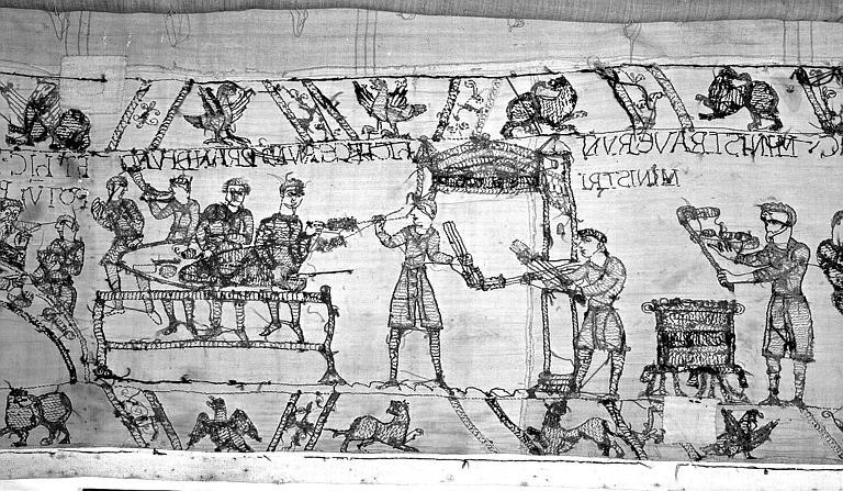 Tapisserie de Bayeux : Revers de 82P00739