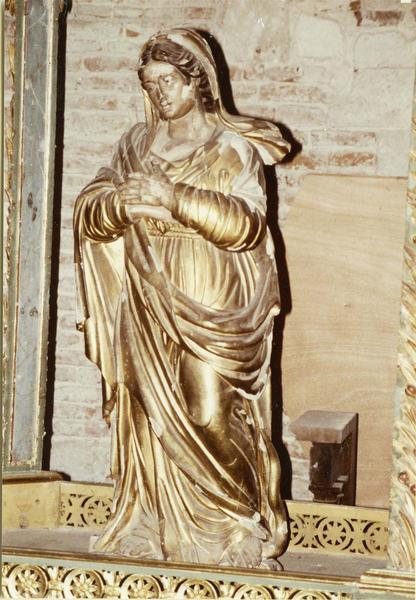 statue : Notre-Dame des pins