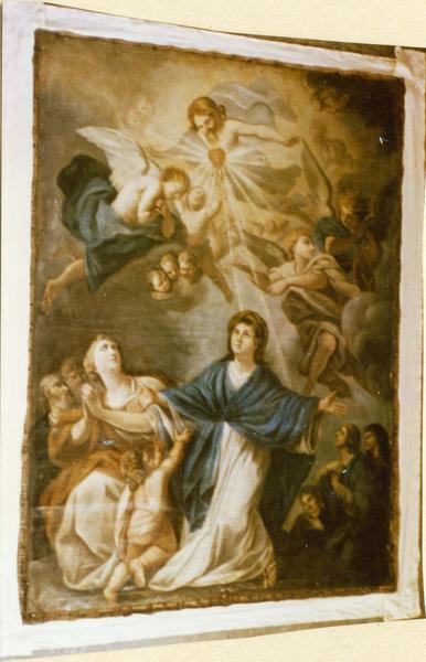 tableau : la dévotion du Sacré-Coeur