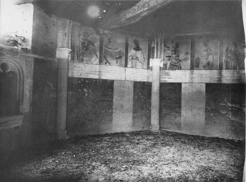 six peintures monumentales : sibylles
