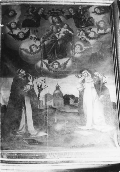 tableau : la Vierge du Rosaire