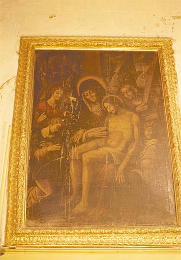 Tableau : la Descente de croix, cadre