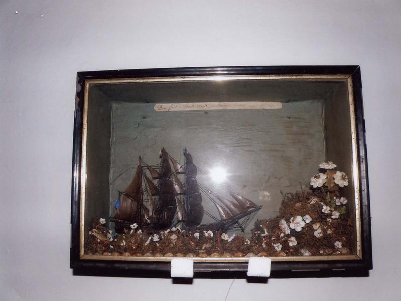 Ex-voto 59 : Trois-mâts (diorama), vue générale