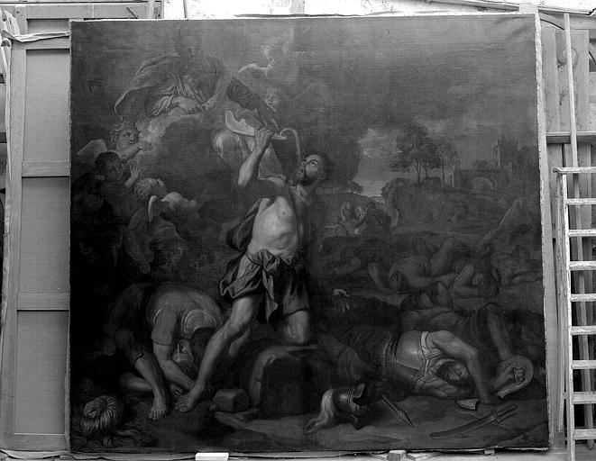 Tableau : Samson chassant les philistins